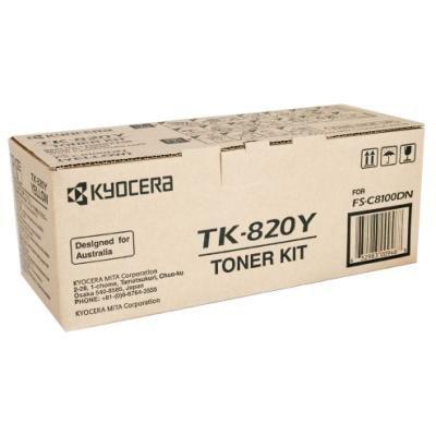 Toner Kyocera TK-820Y žlutý