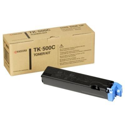 Toner Kyocera TK-500C modrý