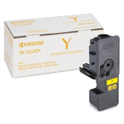 Toner Kyocera TK-5220Y žlutý