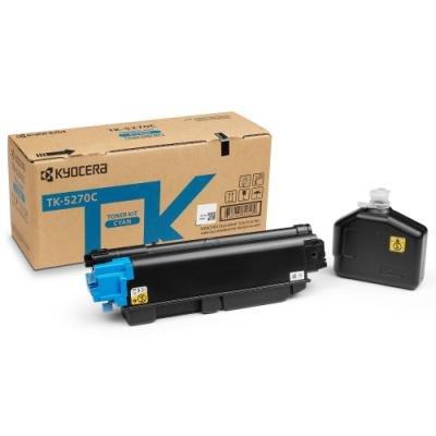 Toner Kyocera TK-5270C modrý