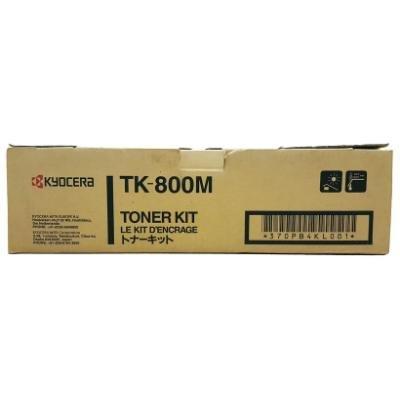 Toner Kyocera TK-800M červený