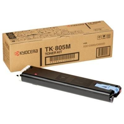 Toner Kyocera TK-805M červený