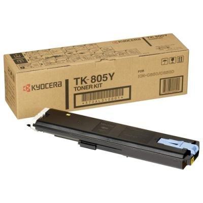 Toner Kyocera TK-805Y žlutý