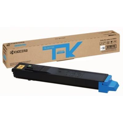 Toner Kyocera TK-8115C modrý