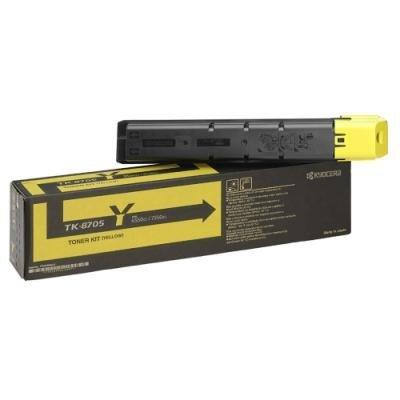 Toner Kyocera TK-8705Y žlutý