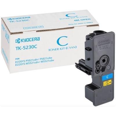 Toner Kyocera TK-5230C modrý