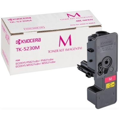 Toner Kyocera TK-5230M červený