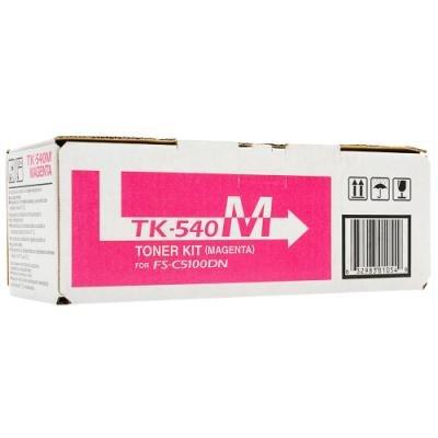 Toner Kyocera TK-540M červený