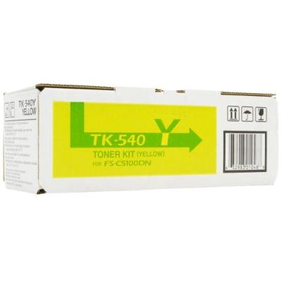 Toner Kyocera TK-540Y žlutý