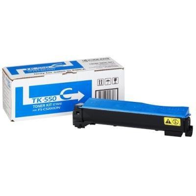 Toner Kyocera TK-550C modrý