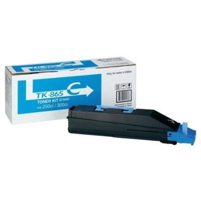 Toner Kyocera TK-865C modrý