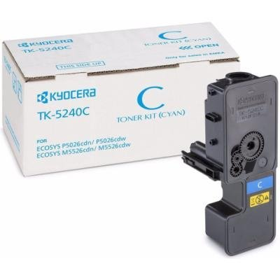 Toner Kyocera TK-5240C modrý