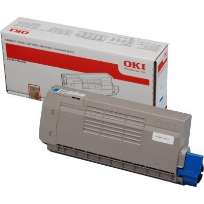Toner OKI 44318607 modrý