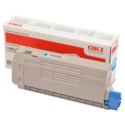 Toner OKI 46507615 modrý