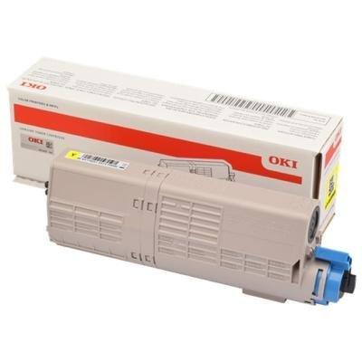 OKI originál tonerová kazeta 46490401/ C532/ C542/ MC563/ MC573/ 1500 stran/ žlutá