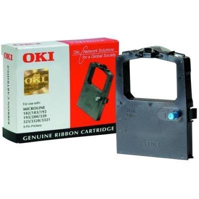 Páska do tiskárny OKI 09002303 černá