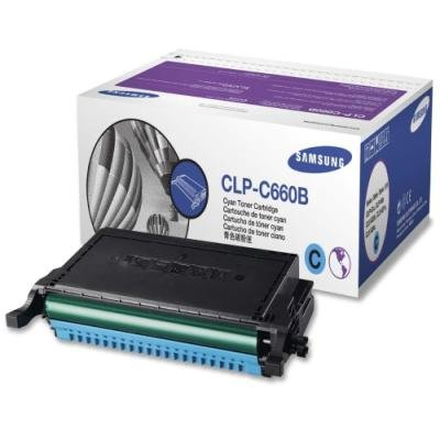 Toner Samsung CLP-C660B azurový