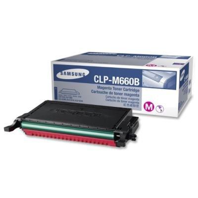 Toner Samsung CLP-M660B purpurový