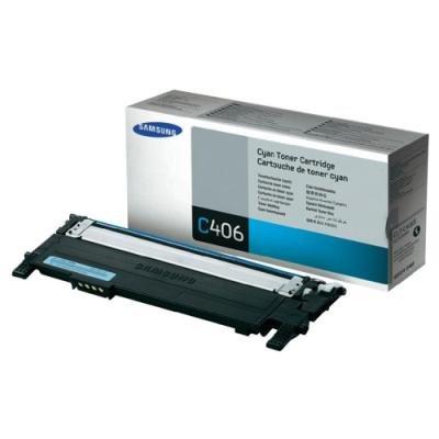 Toner Samsung CLT-C406S azurový