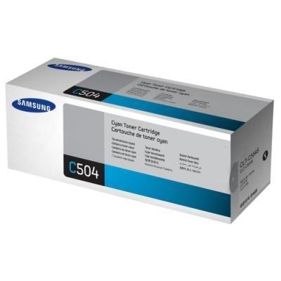Toner Samsung CLT-C504S azurový