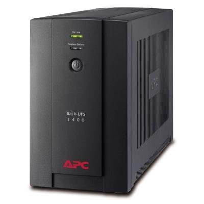 Záložní zdroj APC Back-UPS 1400VA (700W)