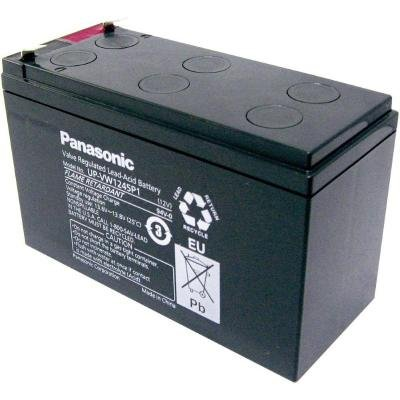 PANASONIC olověná baterie UP-VW1245P1 do UPS AEG/APC/EATON/ 12V/ 9Ah/ životnost 6-9let/ Faston F2-6,3mm