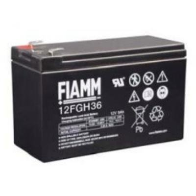 FIAMM olověná baterie 12 FGH 36 do UPS AEG/ APC/ EATON/ Powerware 12V/ 9Ah/ životnost 5 let/ Faston F2-6,3mm