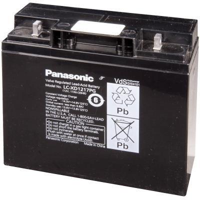 Baterie Panasonic LC-XD1217PG