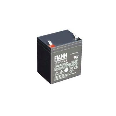 FIAMM olověná baterie 12 FGH 23 do UPS APC/ AEG/ EATON/ Powerware/ 12V/ 5,0Ah/ životnost 5 let/ Faston F2-6,3mm