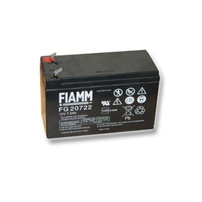 FIAMM olověná baterie FG20722 do UPS APC/ AEG/ EATON/ Powerware 12V/ 7,2Ah/ životnost 5 let/ Faston F2-6,3mm