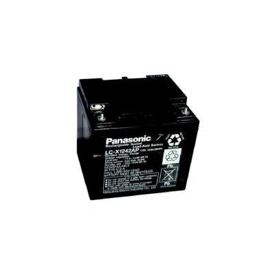 PANASONIC olověná baterie LC-X1242AP do UPS AEG/ 12V/ 42Ah/ životnost 10-12 let/ závit M5