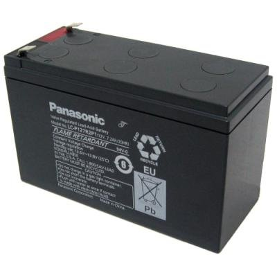 PANASONIC olověná baterie LC-P127R2P1 do UPS AEG/ APC/ EATON/ Powerware/ 12V/ 7,2Ah/ životnost 10-12let/ Faston F2-6,3mm