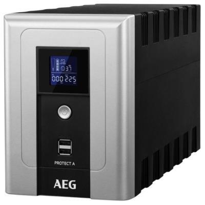 POŠKOZENÝ OBAL - AEG UPS Protect A.1200/ 1200VA/ 720W/ 230V/ line-interactive UPS