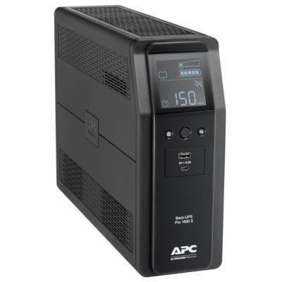 APC Back UPS Pro BR 1600VA (960W)/ Sinusoida/ LINE-INTERAKTIVNÍ/ AVR/ 230V/ LCD/ IEC zásuvky
