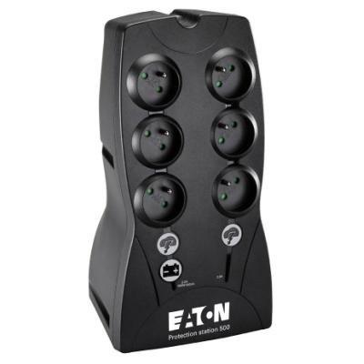 EATON UPS Protection Station 500FR, 500VA, ochrana datové sítě