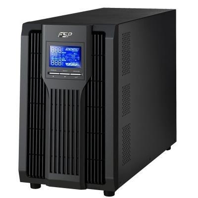 POŠKOZENÝ OBAL - FORTRON Champ TW 3000VA / 3000VA/2700W / 120-300 VAC / LCD /  USB / RS-232