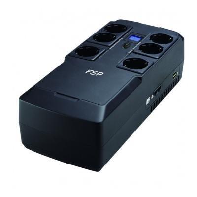 FORTRON UPS NanoFit 800 / USB / dotykový displej / 800VA / 480 W
