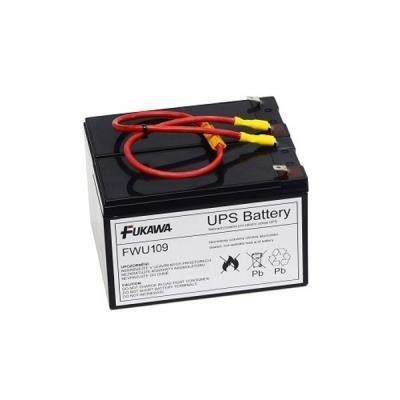 FUKAWA olověná baterie FWU109 do UPS APC/ náhradní baterie za RBC109