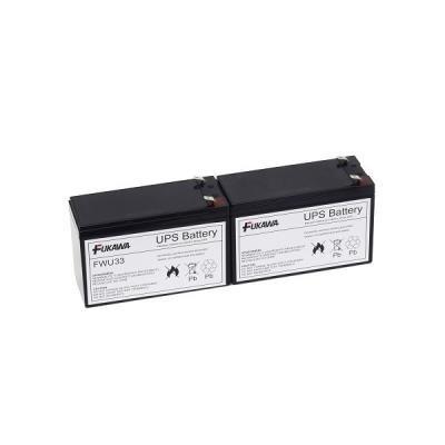 FUKAWA olověná baterie FWU33 do UPS APC/ výměnná sada za RBC33