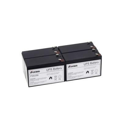 FUKAWA olověná baterie FWU59 do UPS APC/ výměnná sada za RBC59