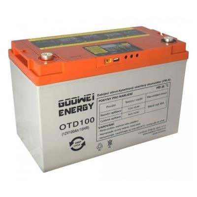 Baterie GOOWEI ENERGY DEEP CYCLE (GEL), 100Ah, 12V