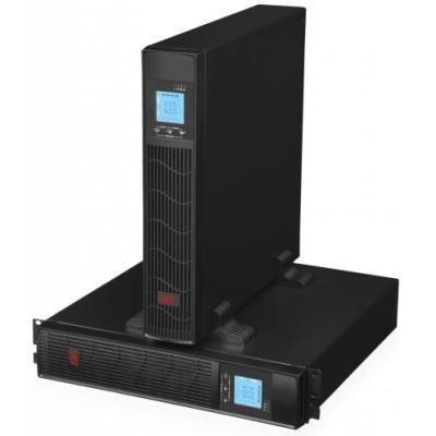 EUROCASE záložní zdroj EA610RT 1000VA / 1000VA / USB / RJ45 / LCD Displej / Pure sine way