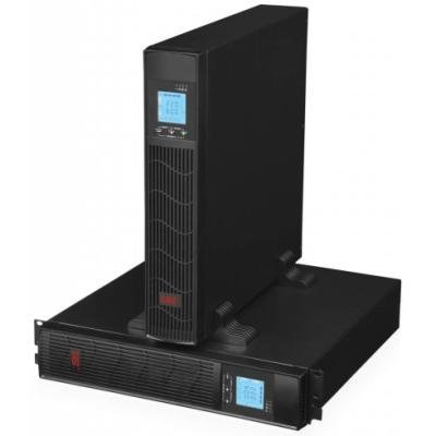 EUROCASE záložní zdroj EA620RT 2000VA / 1600W / Rack/Tower / USB / RJ45 / LCD Displej / Pure sine way