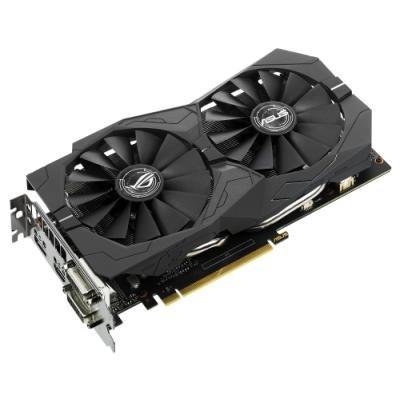 Grafická karta Asus GeForce GTX 1050 Ti STRIX O4G