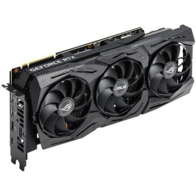 ASUS GeForce ROG STRIX RTX2080 A8G GAMING / 8GB GDDR6 / 2x HDMI / 2x DP / 1x USB Type-C / Aktivní