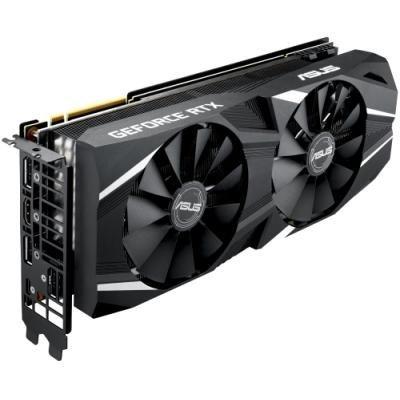 ASUS GeForce DUAL RTX2080 O8G / 8GB GDDR6 / 1x HDMI / 3x DP / 1x USB Type-C / Aktivní