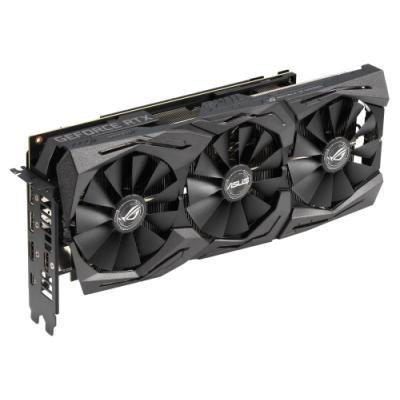 ASUS GeForce ROG STRIX RTX2070 O8G GAMING / 8GB GDDR6 / 2x HDMI / 2x DP / 1x USB Type-C / Aktivní