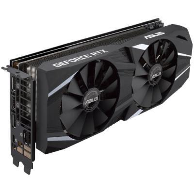 ASUS GeForce DUAL RTX2070 O8G / 8GB GDDR6 / 1x HDMI / 3x DP / 1x USB Type-C / Aktivní