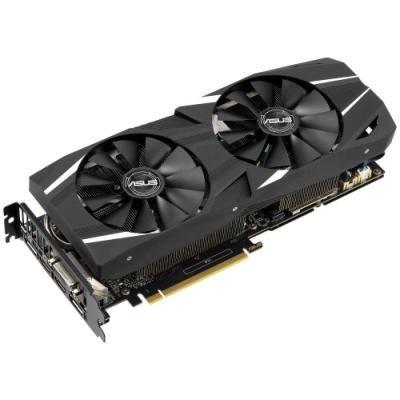 ASUS GeForce DUAL-RTX2060-O6G / 6GB GDDR6 / DVI-D / 2x HDMI / 2x DP / Aktivní