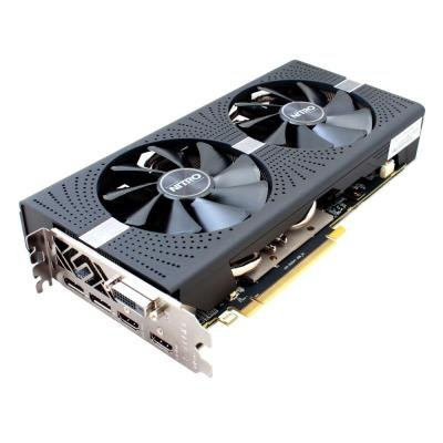 OPRAVENÉ - SAPPHIRE NITRO+ RADEON RX 570 / 4GB GDDR5 / PCI-E / 2x HDMI / DVI-D / 2x DP / active
